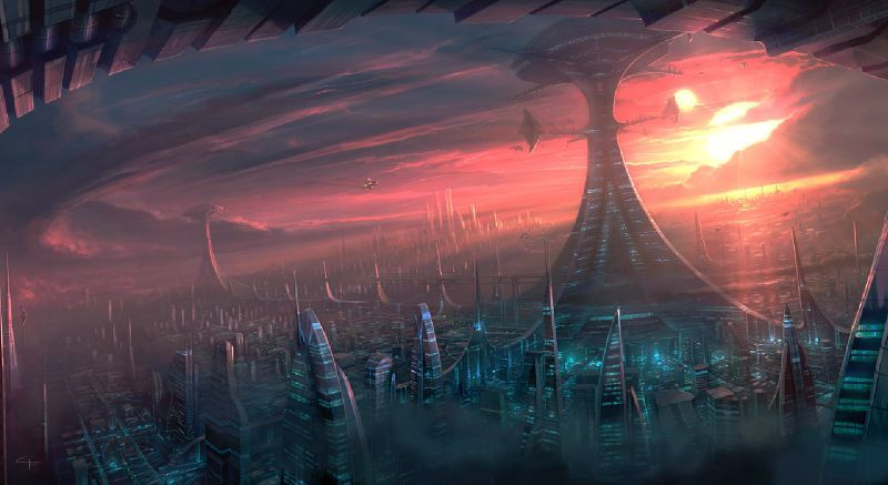 Sci Fi Wallpaper Of The Week 19: Base : Paysages (divers)