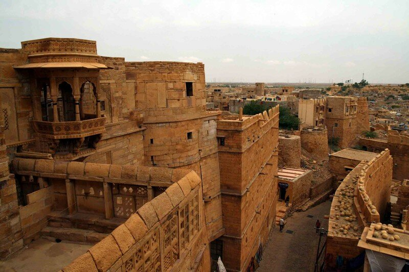 Jaisalmer Fort, detail