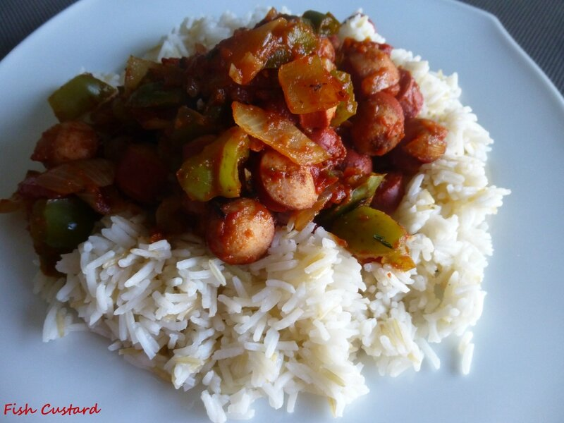 Rougail saucisses (6)