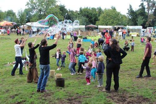 la Fête des Sens Avranches 2013 Quartier Nature ferme du Petit Changeons animations enfants