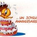 Bon anniversaire mon petit frèrot !!!