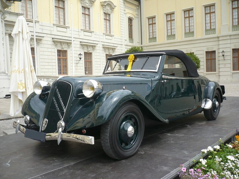 CITROËN Traction Avant 15 Six roadster 1939 Ludwigsburg (1)