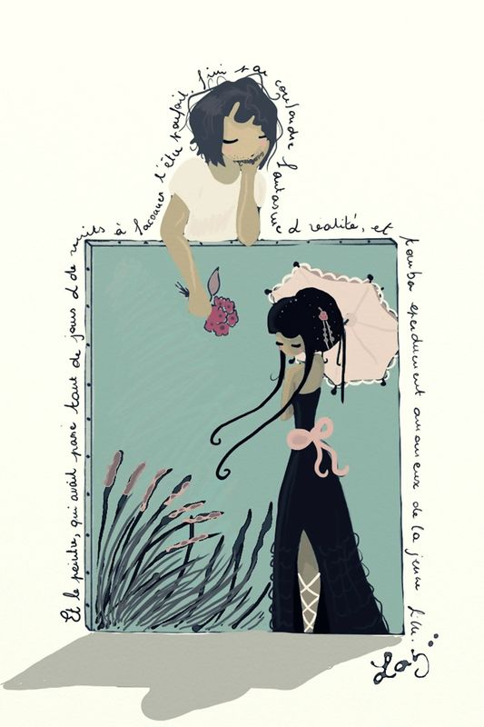 la fille aux roseaux