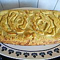 Cake poivrons, carottes et courgettes au curry