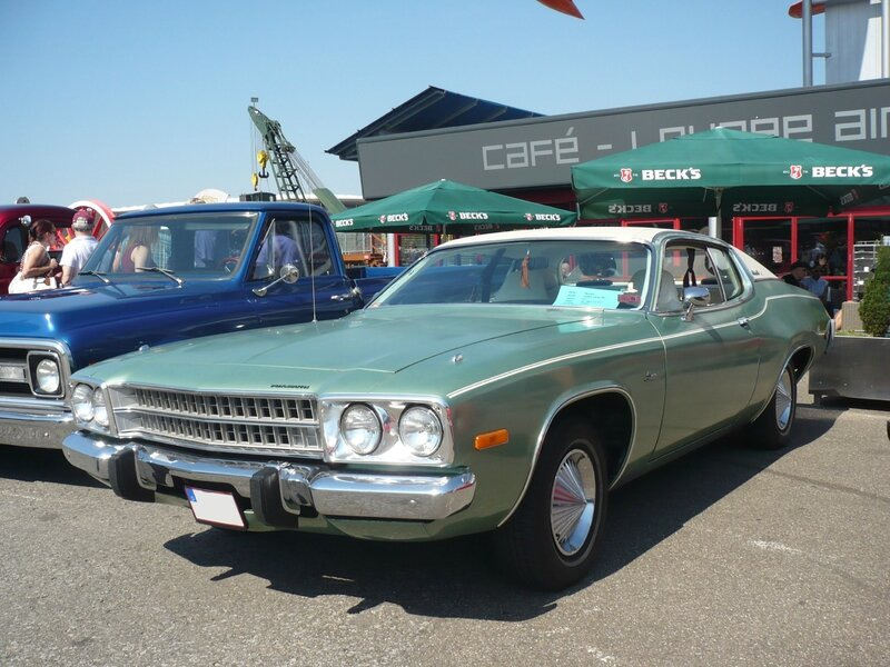 PLYMOUTH Satellite Sebring Plus 2door hardtop 1973 Sinsheim (1)