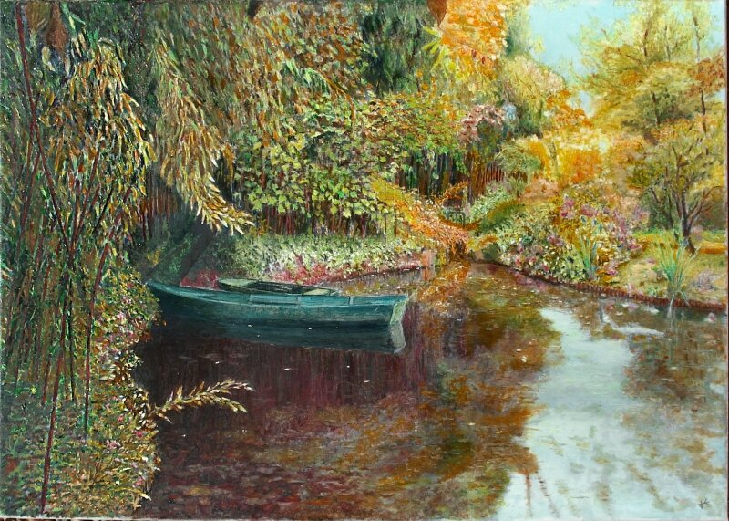 2014-A Giverny-70x50
