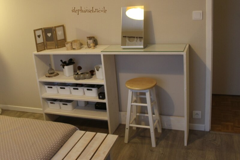 FAIRE MEUBLE CONSOLE DIY
