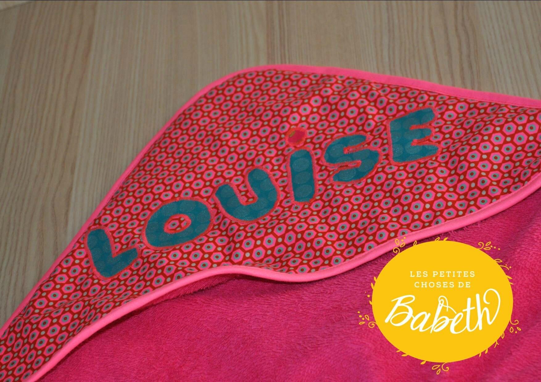 cape de bain Louise 2