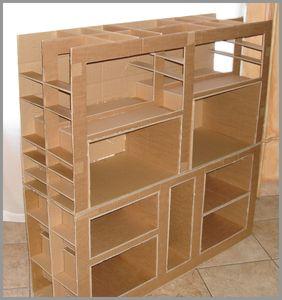 Un buffet cuisine bienvenue dans mon petit atelier for Construire meuble en carton