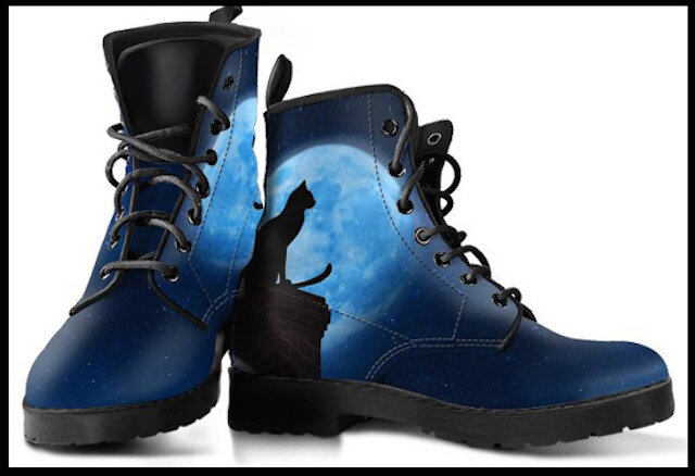 boundbless shop boots black cat full moon 2