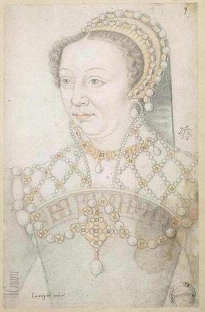 Catherine de Médicis, dessin de seconde main (CNAM)