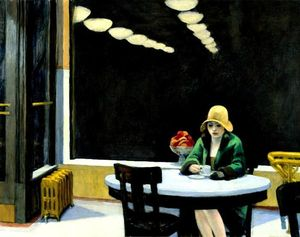 Edward Hopper, Automat,