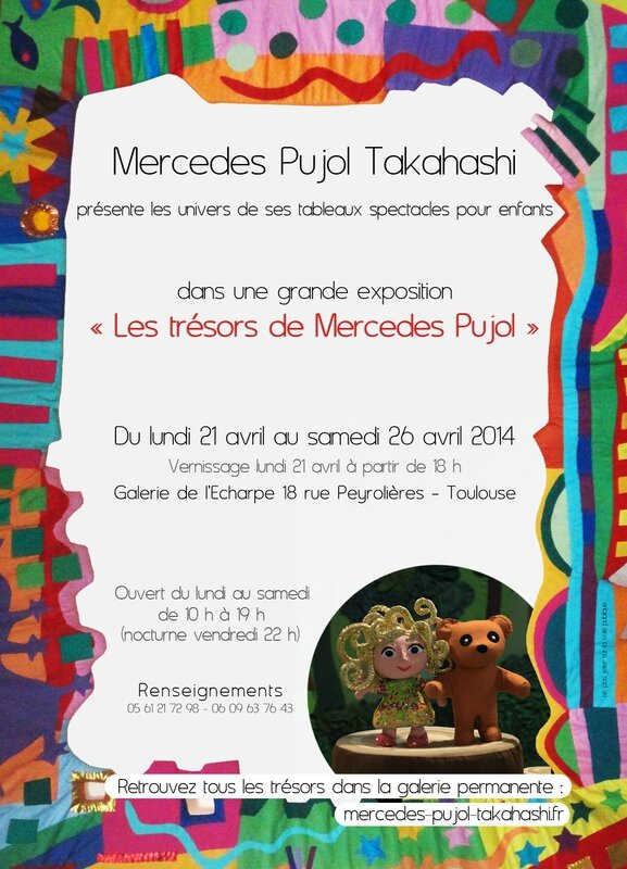 Avril 2014_flyer expo Mercedes Pujol Takahashi