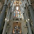 Barcelone, la Sagrada Familia, mai 2011