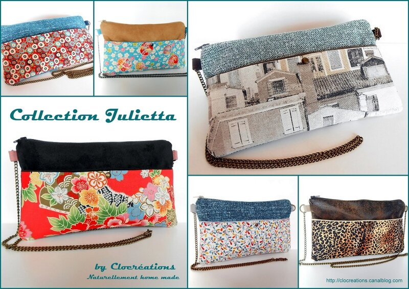 collection Julietta-clocréations