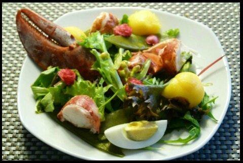 salade homard