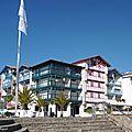 1-Hendaye, Socoa, Coucher soleil Capbreton 100317