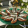 Le bleu en cuisine - aout chez cookingout - #5 poissons bleus
