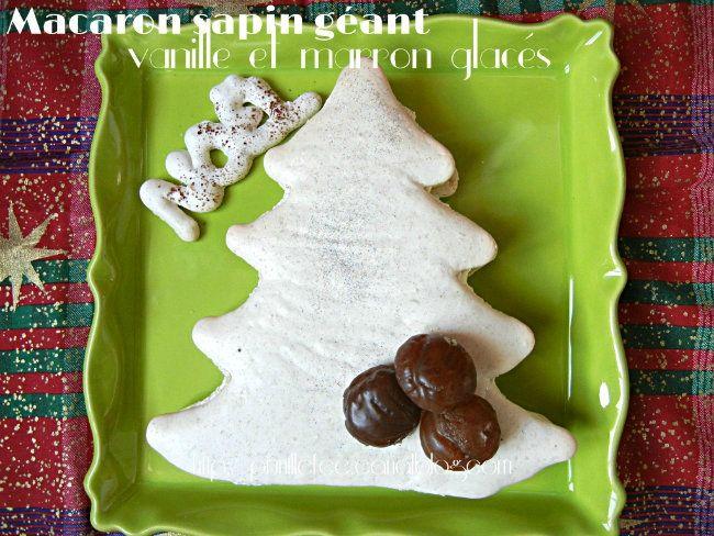 macaron sapin vanille marron glacé prunille fait son show