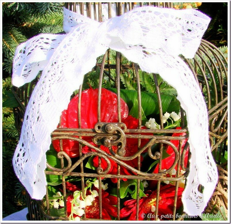 Cage à oiseaux 7 © Aux petits bonheurs d'Arielle