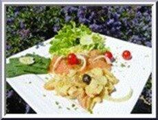 salade de saumon au fenouil