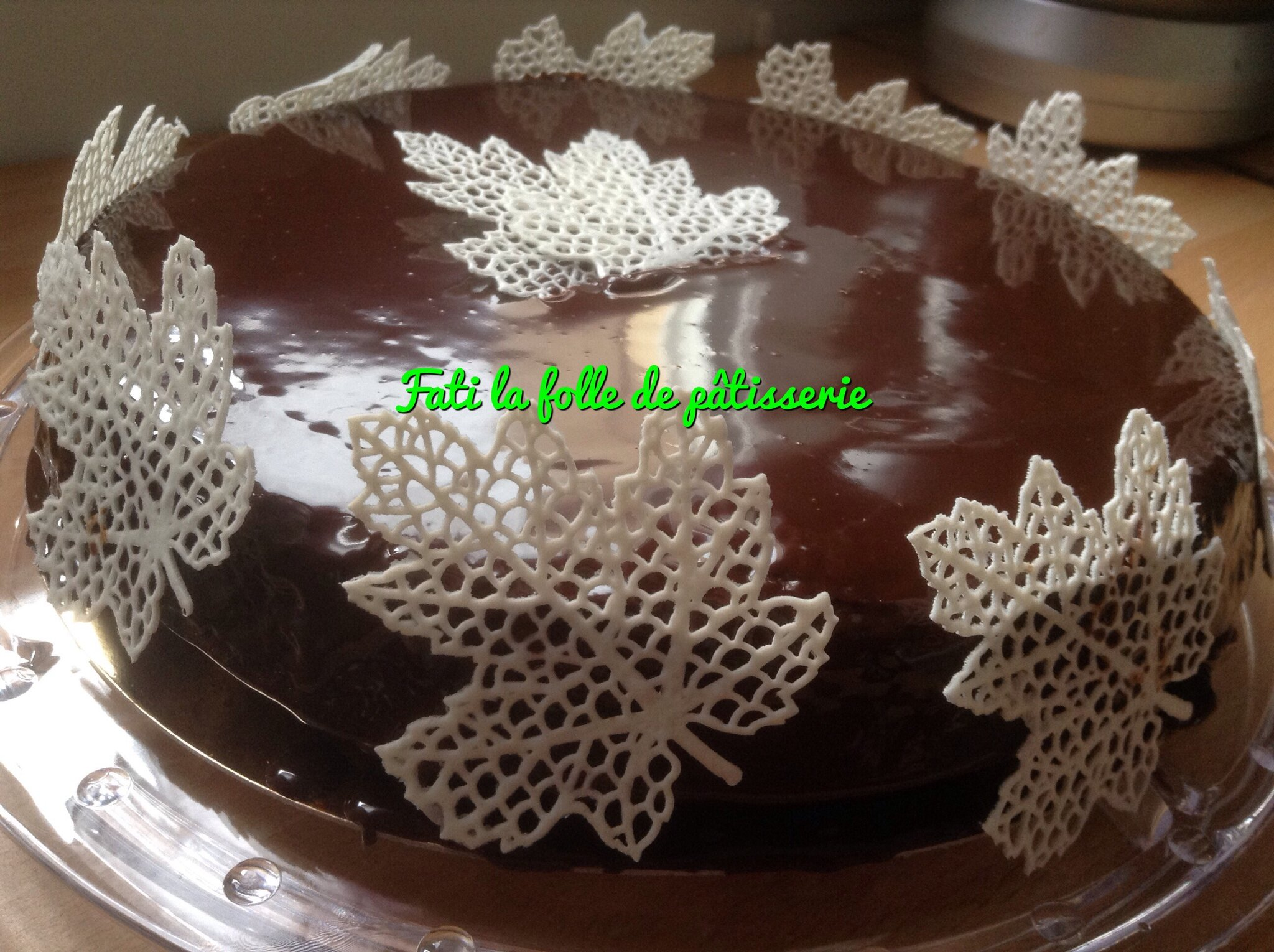 Decoration Gateau Anniversaire Chocolat : Decoration gateau chocolat simple