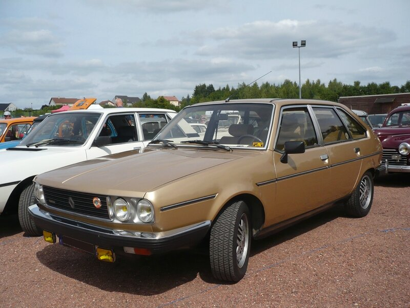 Renault 30 Tx Automatic V6 Injection 1983 Vroom Vroom