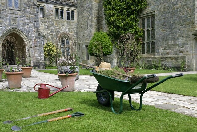 Dans les jardins anglais le cottage de gwladys for Les jardins anglais