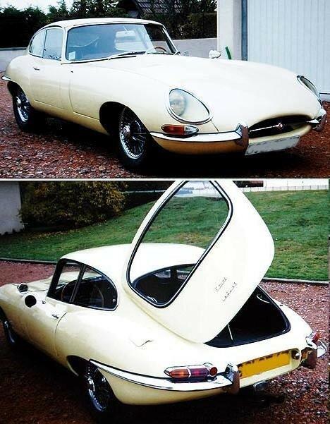 JAGUAR - Type E Coupé 3,8 L Série 1 - 1964