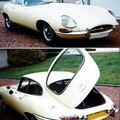 JAGUAR - Type E Coup 3,8 L Srie 1 - 1964