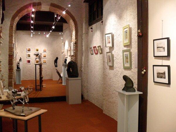 Galerie, droite : Van Straaten, Rondo