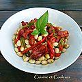 Salade paimpolaise aux poivrons grillés