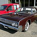 Lincoln continental hardtop (pillared) sedan-1962