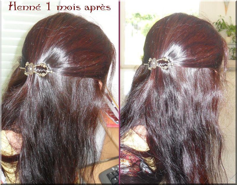 Coloration cheveux blancs au henne