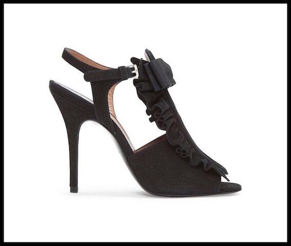 laurence dacade sandales daim 2
