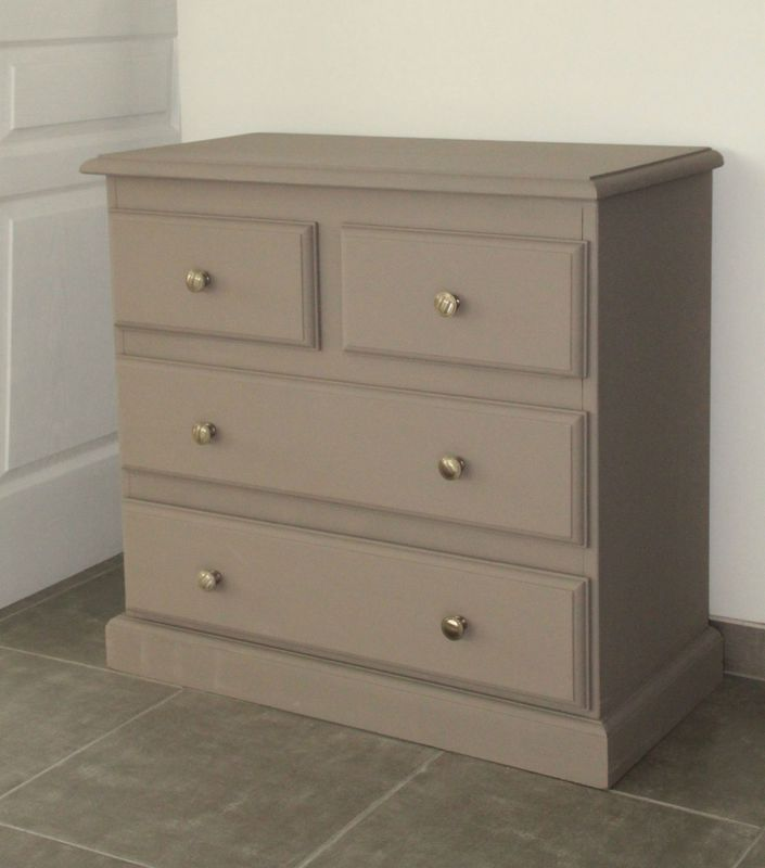 Commode taupe tendance diy relooking mobilier cr er ma d co - Commode a langer taupe ...