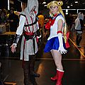 Japan Party Cosplay Assassin's Creed et Sailor Moon