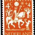 PAYS-BAS (2 timbres)