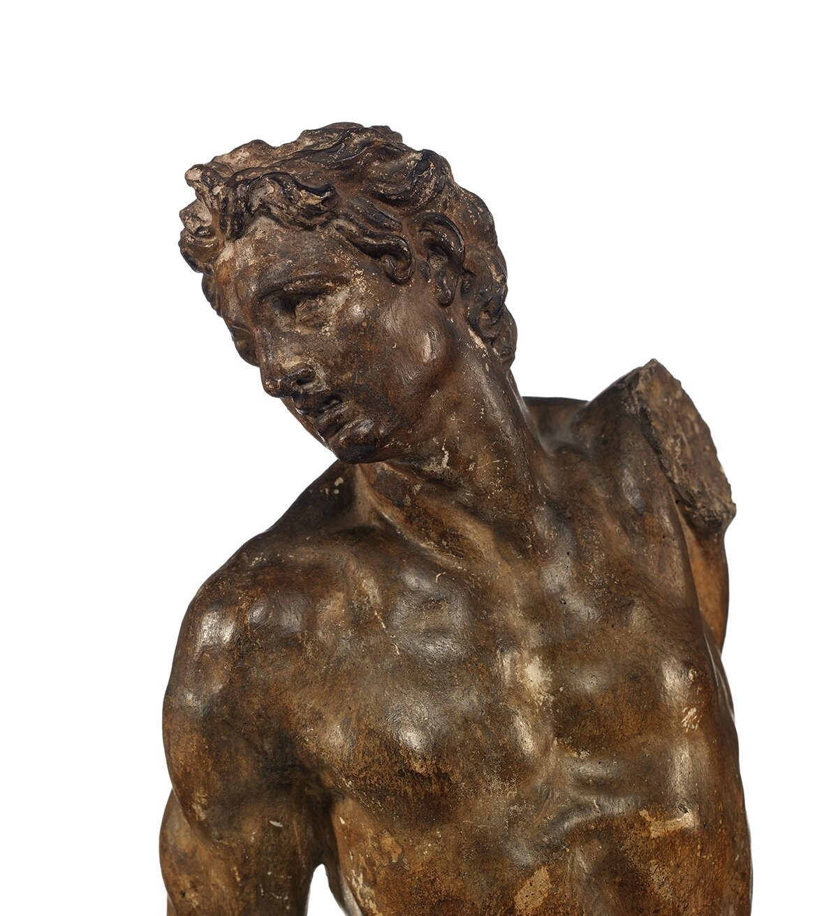 Saint Sébastien, Attribué à Alessandro Vittoria (Trente, 1525 - Venise, 1608), Italie, XVIe siècle