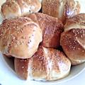 Petits pains farcis à la viande du chef ossama