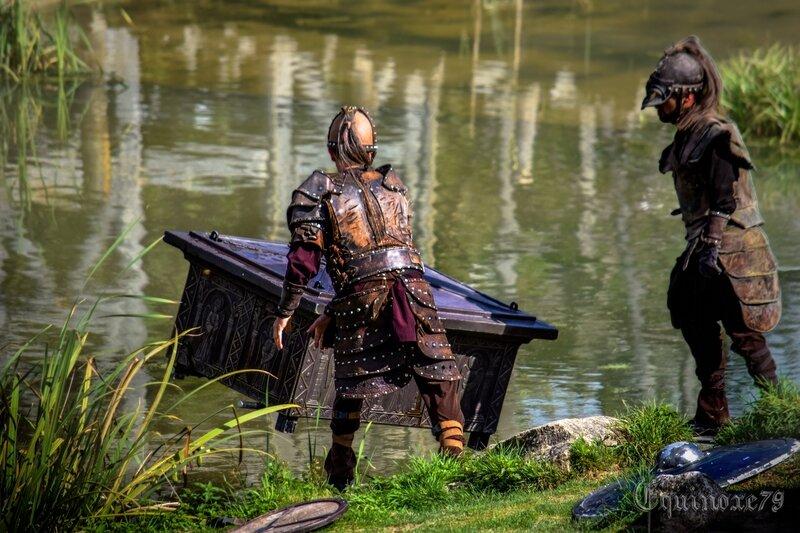 Les Vikings à Noirmoutier – Les moines de Saint Philibert abandonnent les Conches des Normands Puy du Fou(5)
