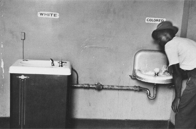 lavabos de la ségrégation