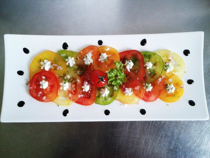 salade de tomates du (chef custos) version 2