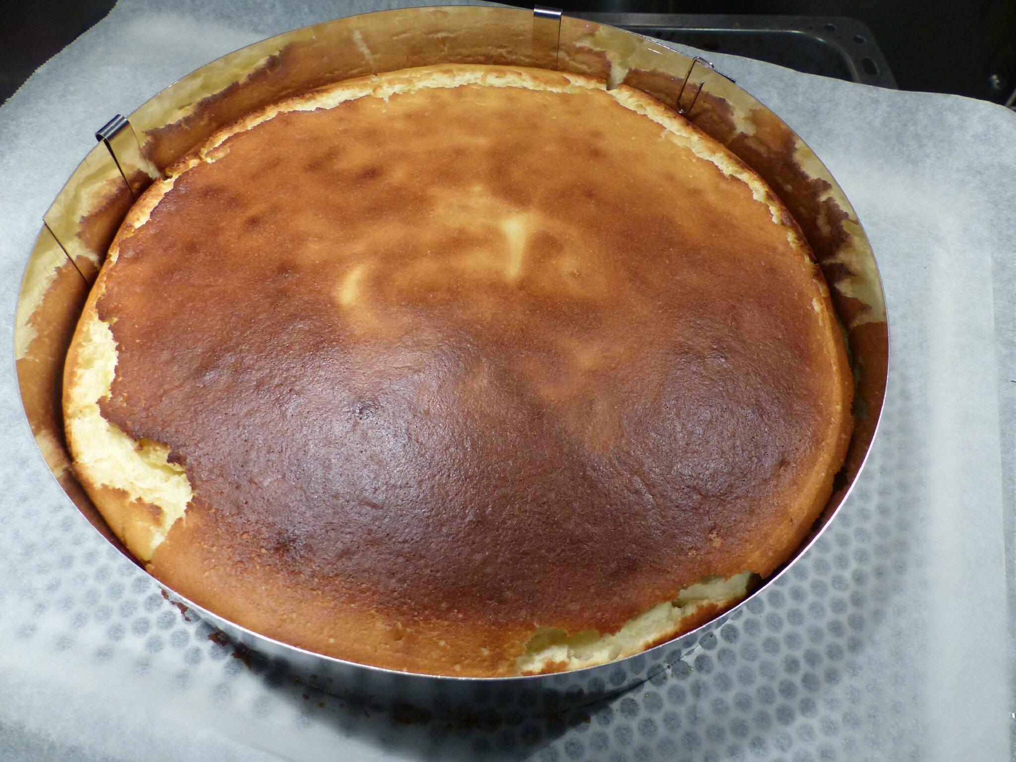 G teau au fromage blanc cuisinetimo for Miroir aux fraises