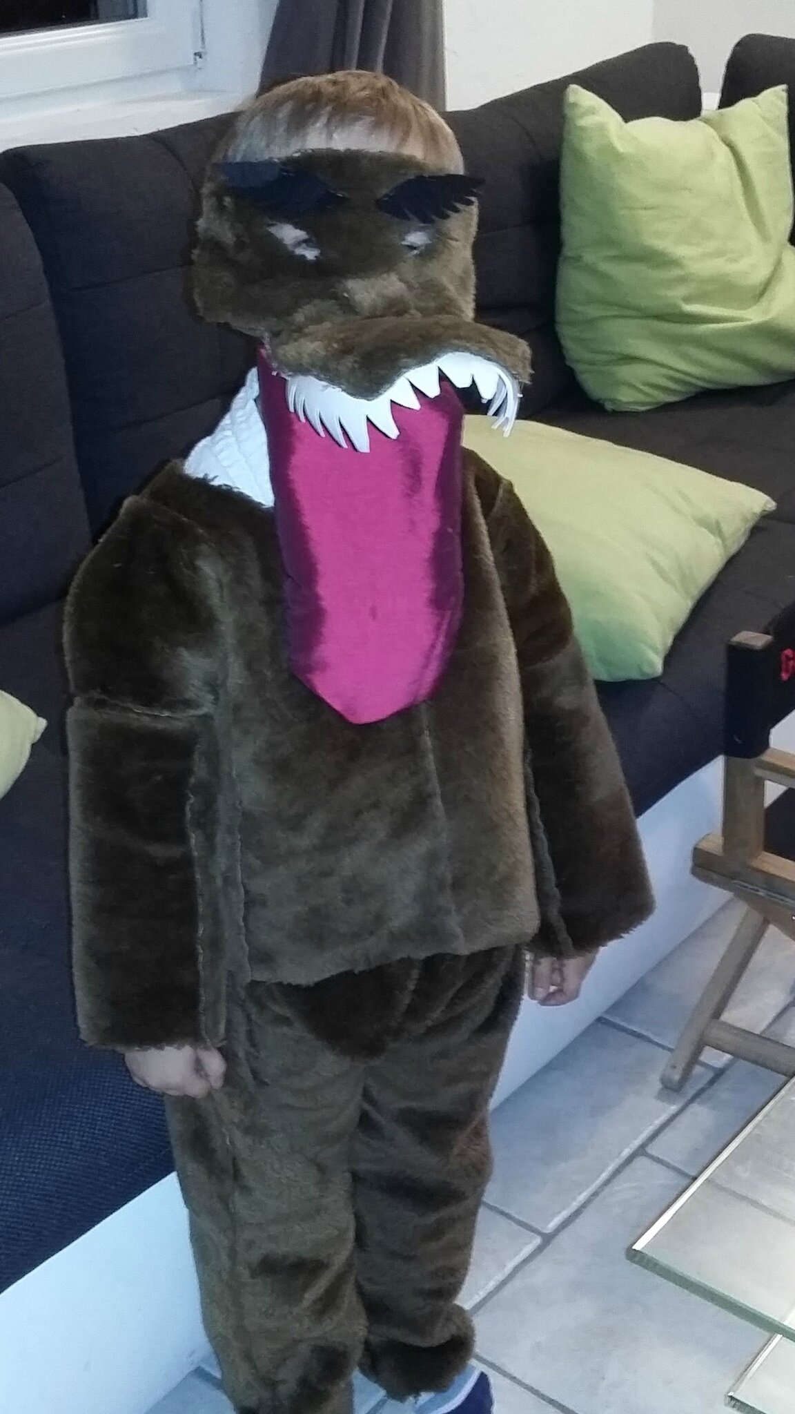 costume de loup!