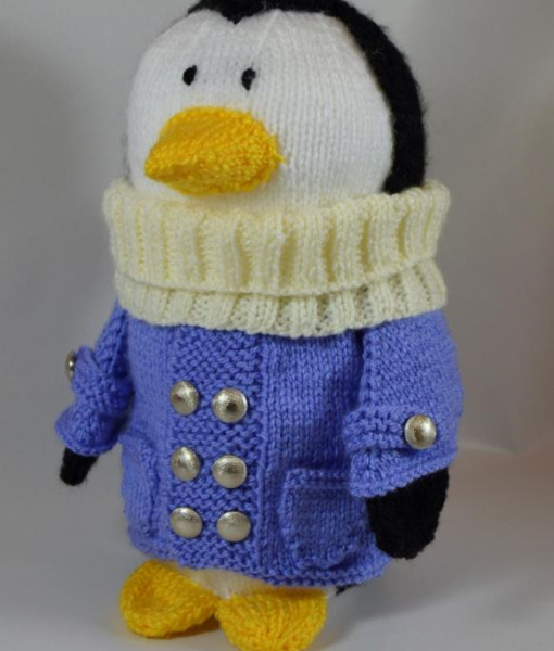 Traduction Traveling Penguin - Knitting by post