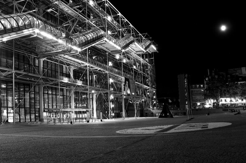 8-Beaubourg by night_1523