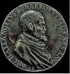 Leone LEONI Michel-Ange Rome 1560