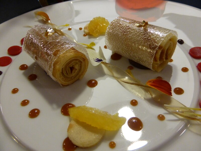 On revisite la Crêpe « SUZETTE » Gelée au Grand Marnier et groseilles (3)
