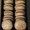 Macarons cappucino (recette de christophe felder)